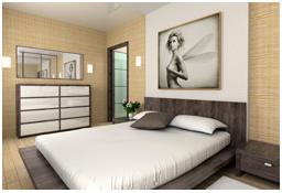 Bilder auf Leinwand für das Schlafzimmer